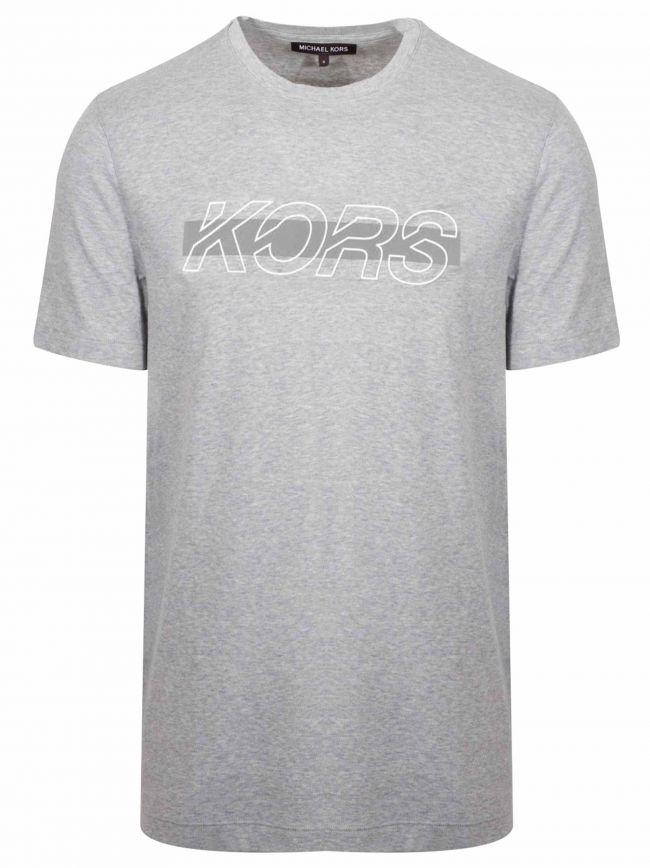 Grey Reflective Logo T-Shirt