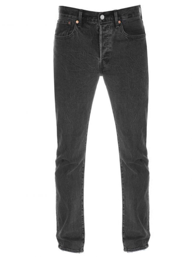501Œ¬ Slim Taper Black Wash Jean