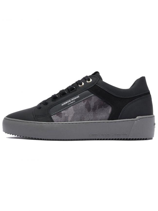 Carbon Black Velvet Camo Venice Sneaker