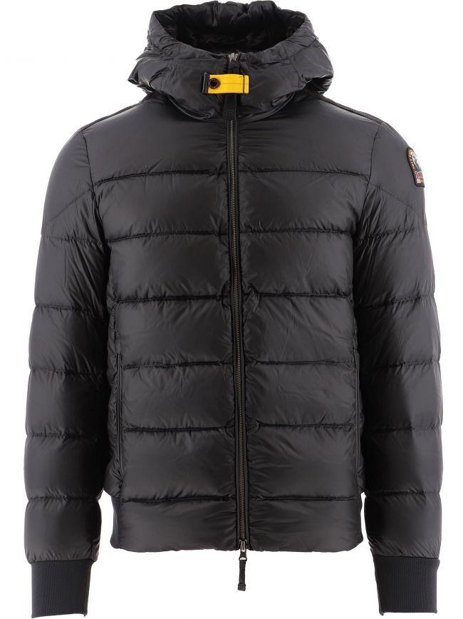 Black Pharrell Hooded Down Jacket