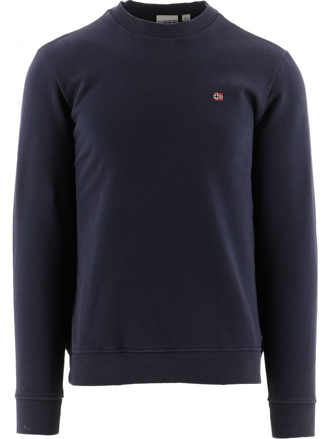 Navy Crew Neck Balis Sweatshirt