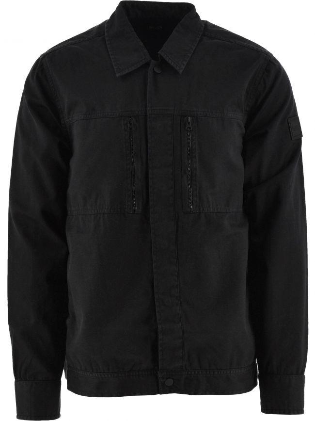 Black Lowy Overshirt