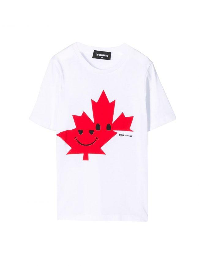 White Leaf Logo T-Shirt