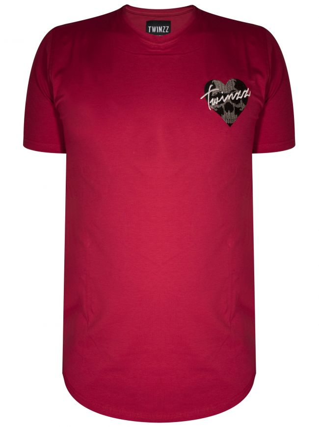 Red Heart Logo T-Shirt