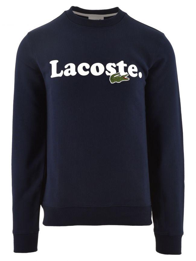 Lacoste And Crocodile Branded Fleece Sweatshirt