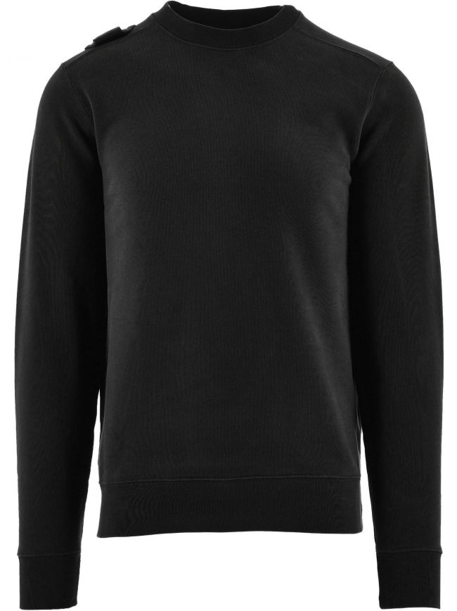 Black Core Crew Sweatshirt