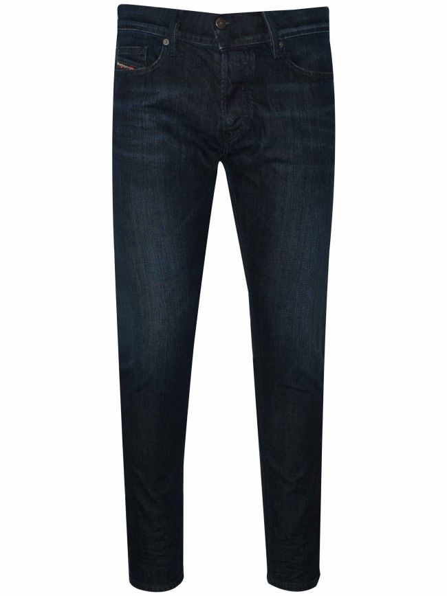 D-Luster Dark Rinse Slim Fit Jean