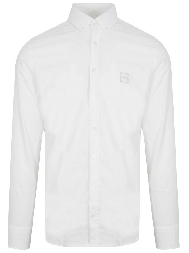 Mabsoot White Long Sleeve Shirt