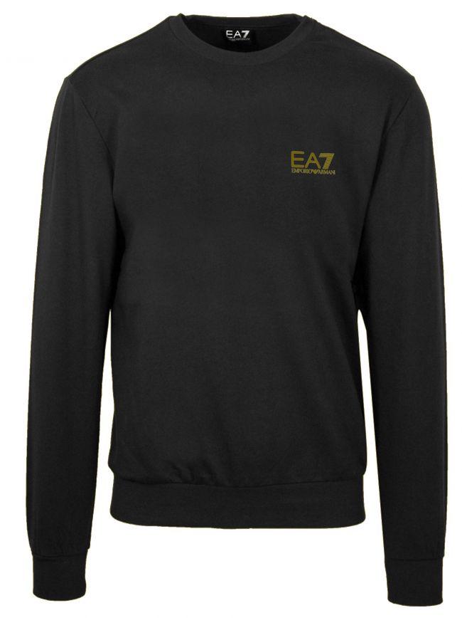 Black and Gold Core Sweatshirt