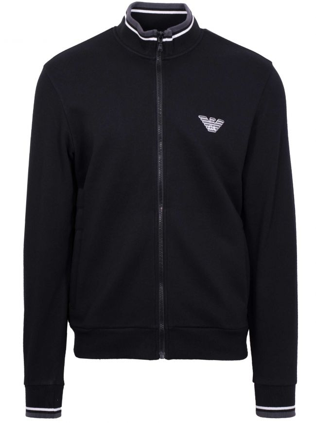 Black Eagle Logo Zip Top