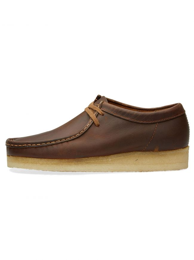 Beeswax Leather Wallabee