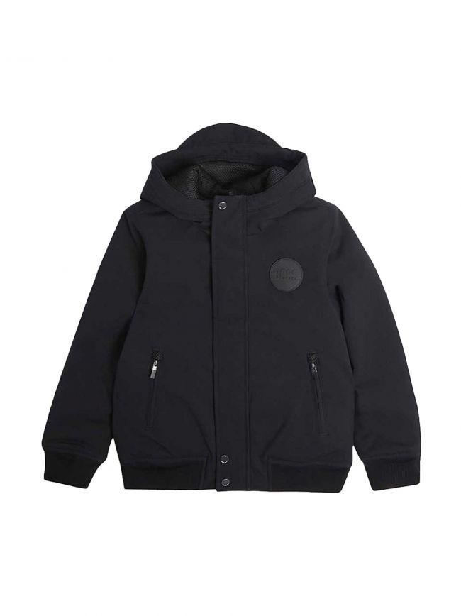Black Hooded Primaloft Jacket