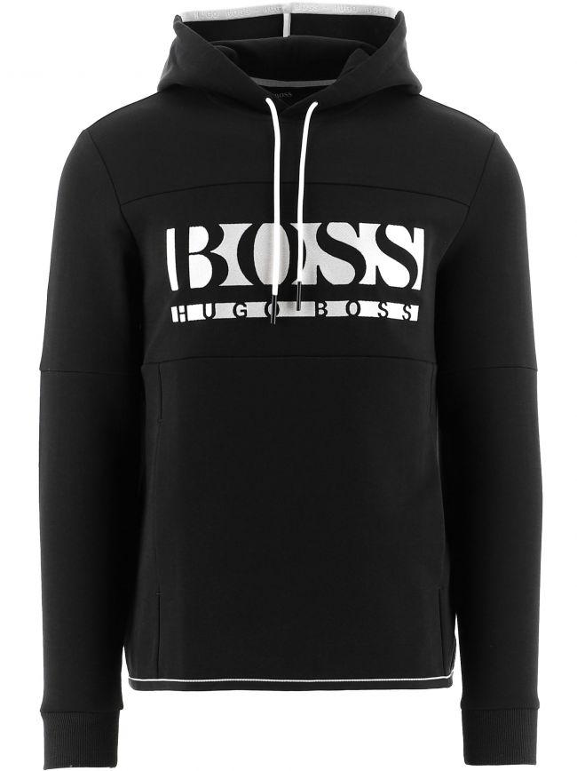 Black Hooded Soody 1 Sweatshirt