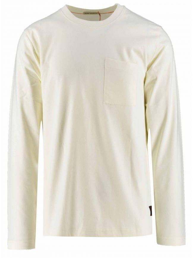 Rudi Off-White Pocket T-Shirt
