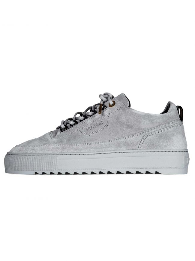 Grey Suede Torino 3 Sneaker