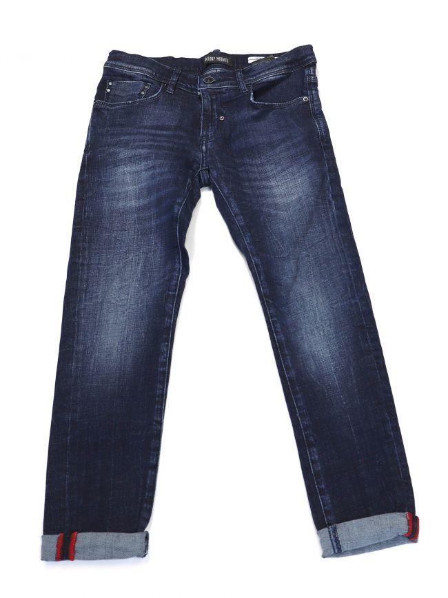 Antony Morato Kids Blue 'Keith' Skinny Jeans