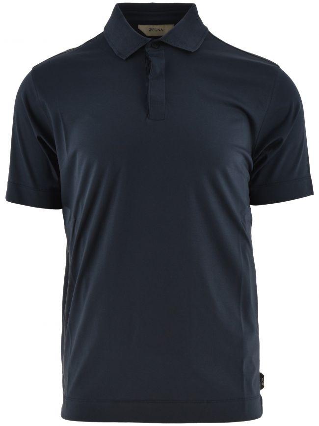 Blue Short Sleeve Polo Shirt
