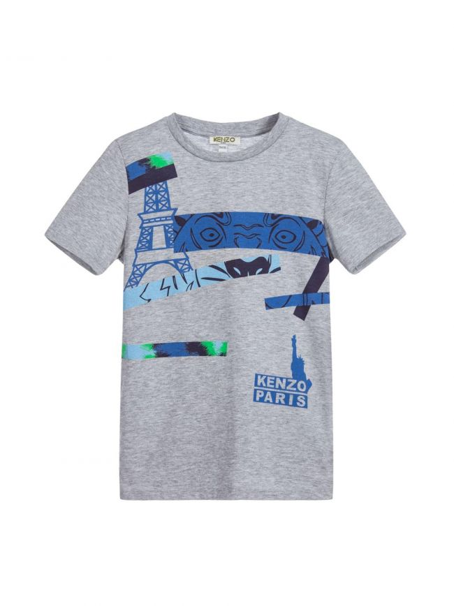 Grey Hide & Seek T-Shirt