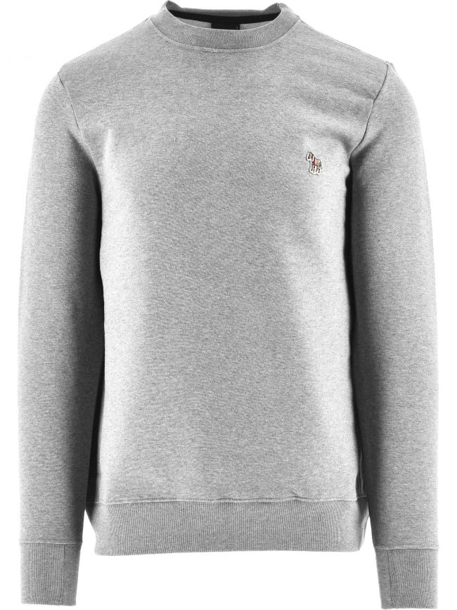 Grey Regular Fit Sweatshirt