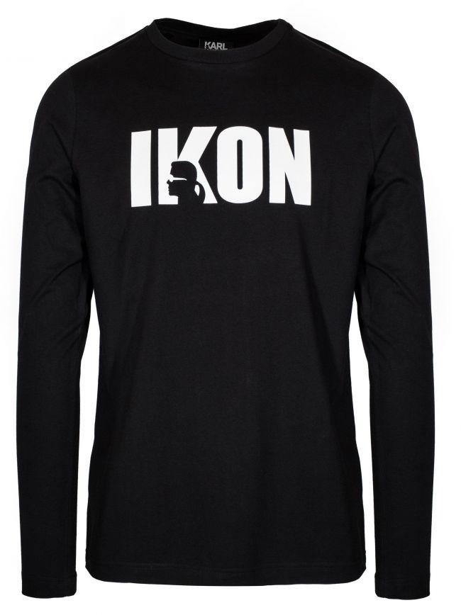 Black IKON Long Sleeve T-Shirt