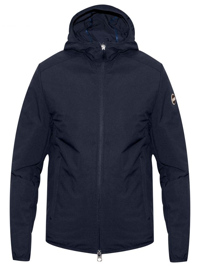 Navy Padded Full Hood Jacket