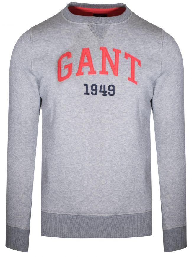 Grey Round Neck Sweatshirt