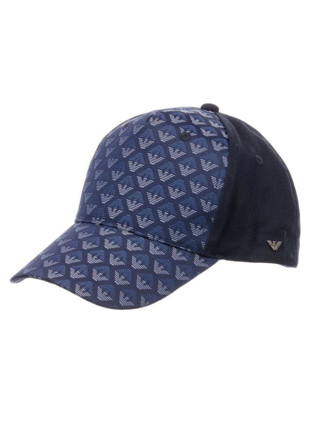 Navy Eagle Baseball Cap