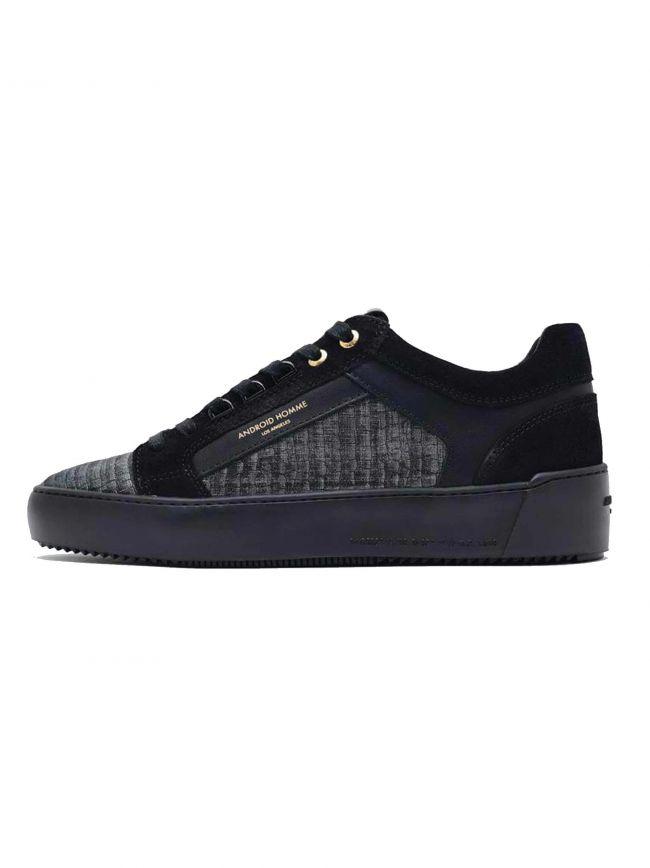 Anthracite Metallic Viper Venice Low Sneaker