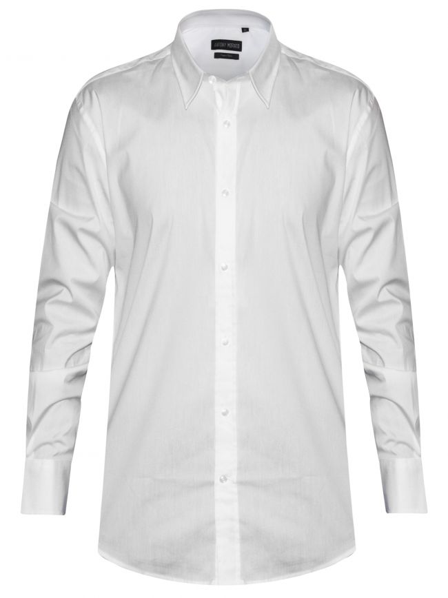 Plain White 'Super Slim' Fit Shirt