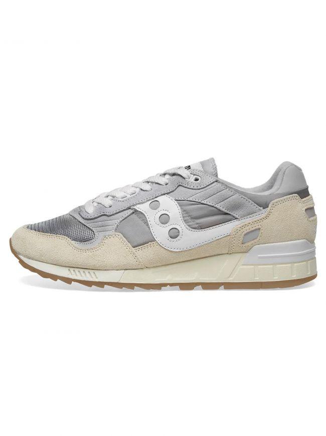 Grey & White Shadow 5000 Sneaker