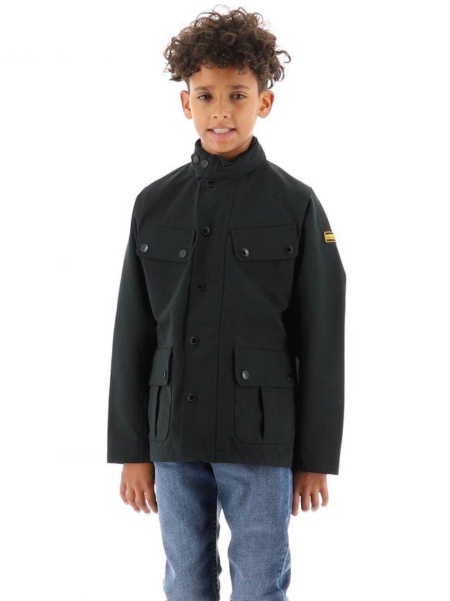 Barbour International Kids Black Sum Washed Jacket Jacket