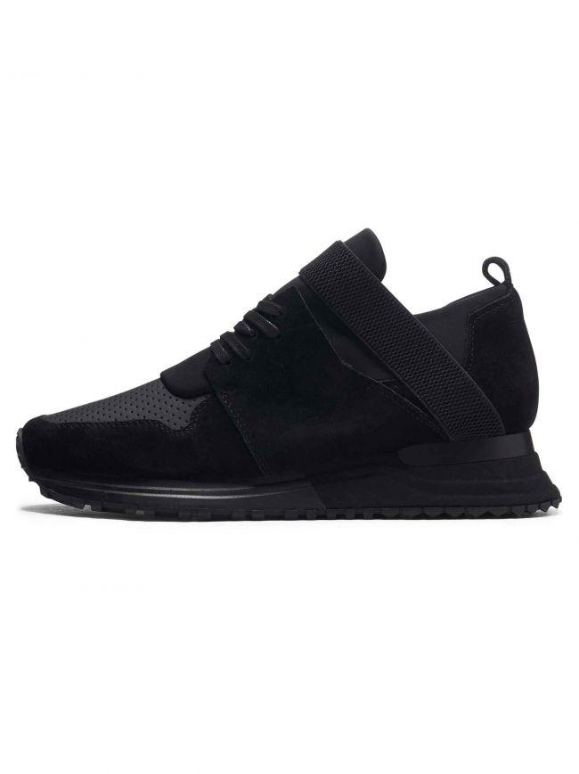 Black Suede Elast 2.0 Sneaker