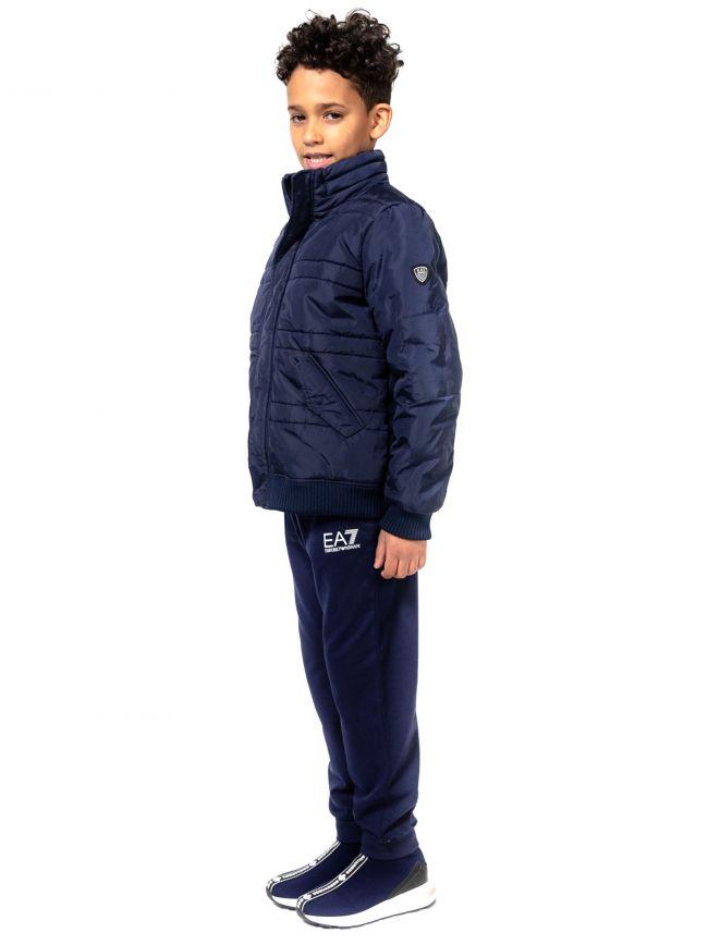 EA7 Kids Navy Bomber Jacket