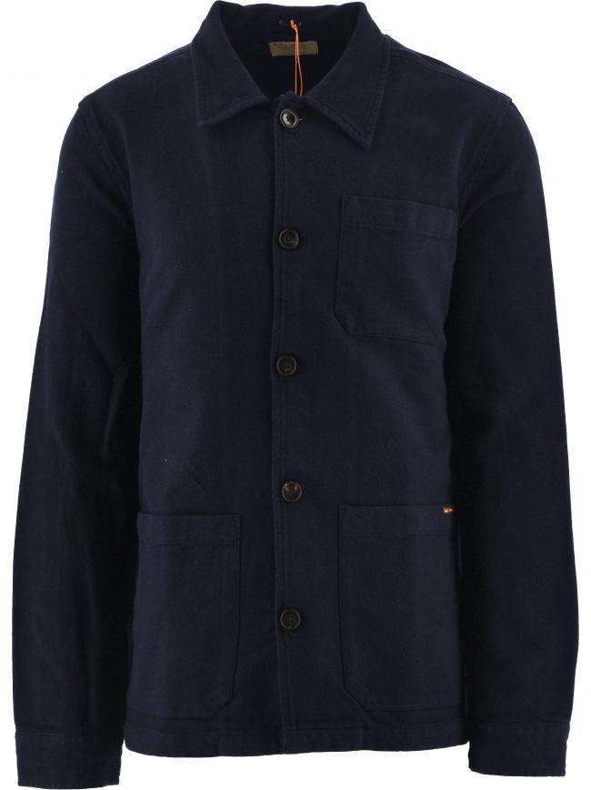 Navy Barney Worker Jacket