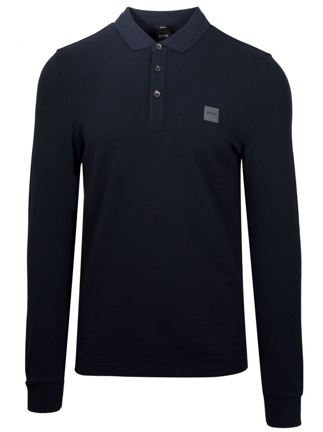 Navy Passerby Polo Shirt