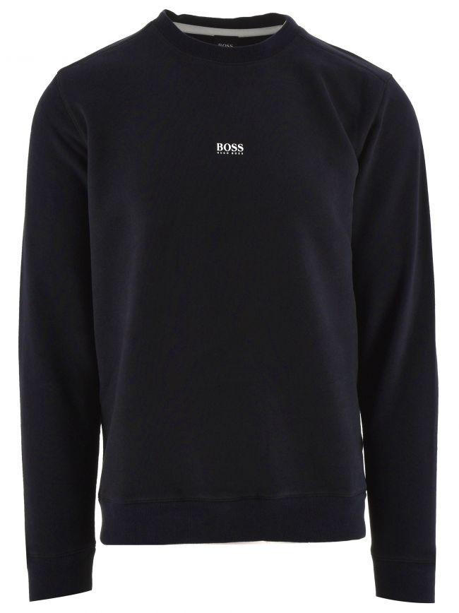 Navy Relaxed Fit Weevo Sweatshirt