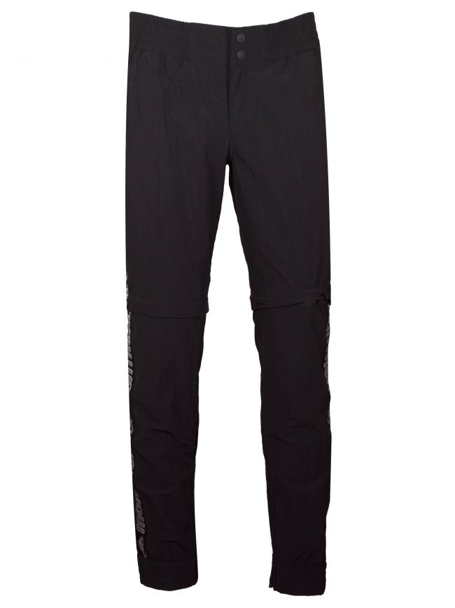 Black Zip Off Tracksuit Pants