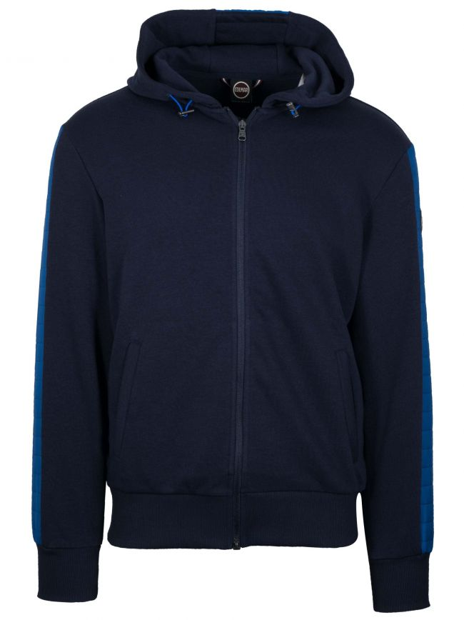 Ultrasonic Navy Hooded Jacket