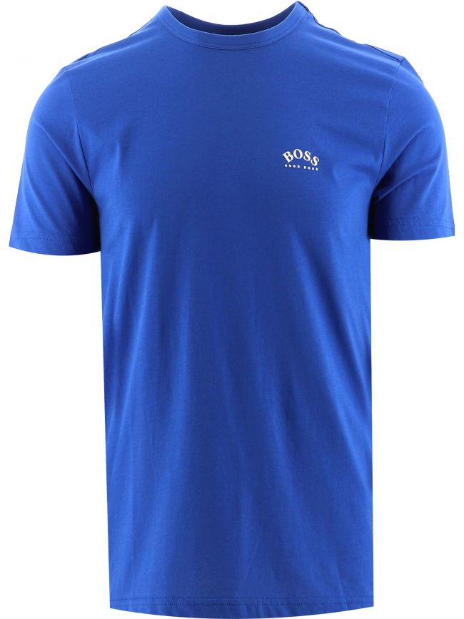 Blue Tee Curved T-Shirt