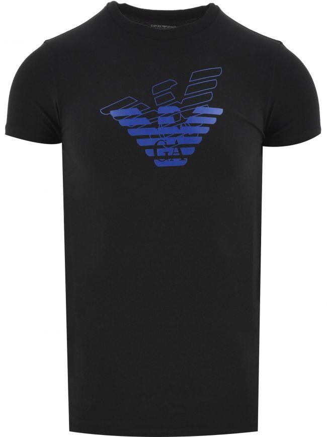 Black Short Sleeve Logo T Shirt