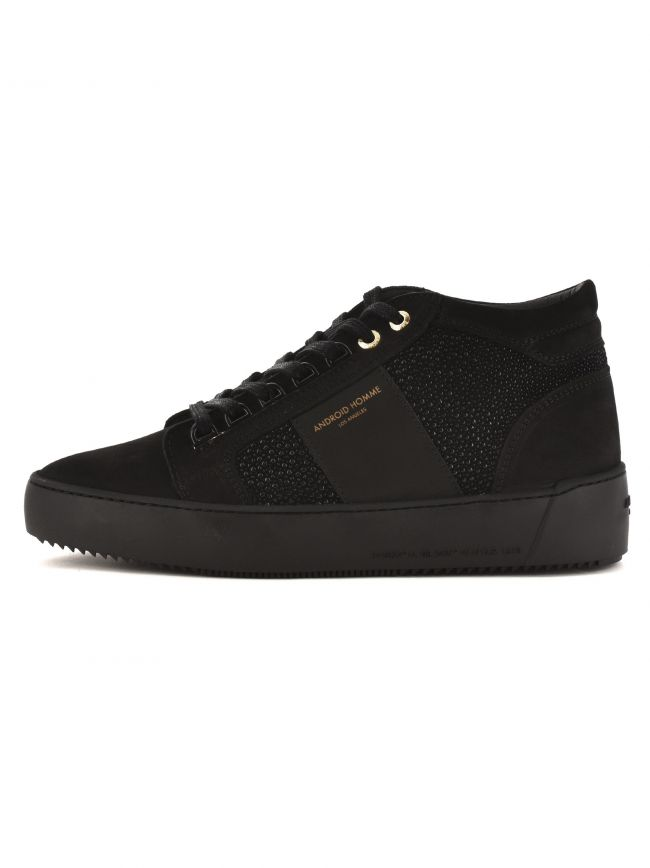 Black Propulsion Mid Sneakers