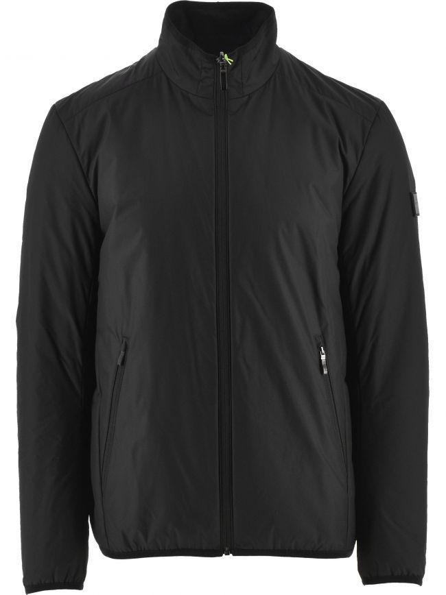 Black Lightweight Zip Jacket
