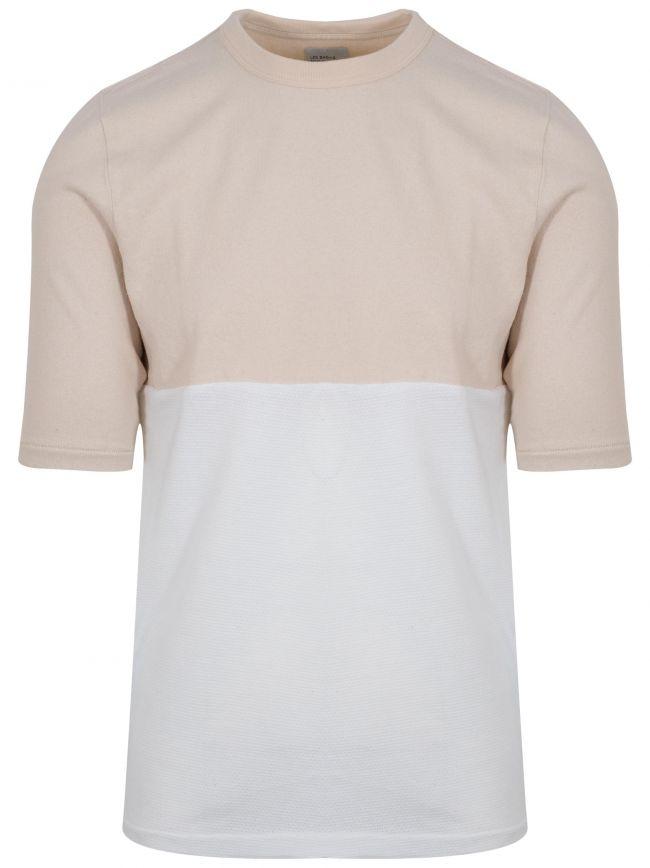 Beige & White Le Football Shirt