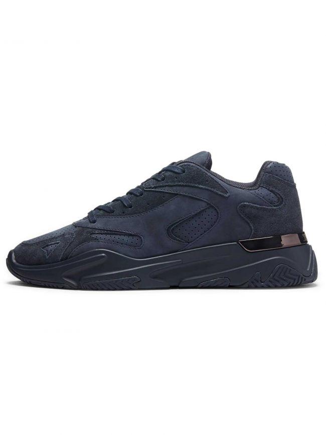 Navy Suede Lurus Sneaker