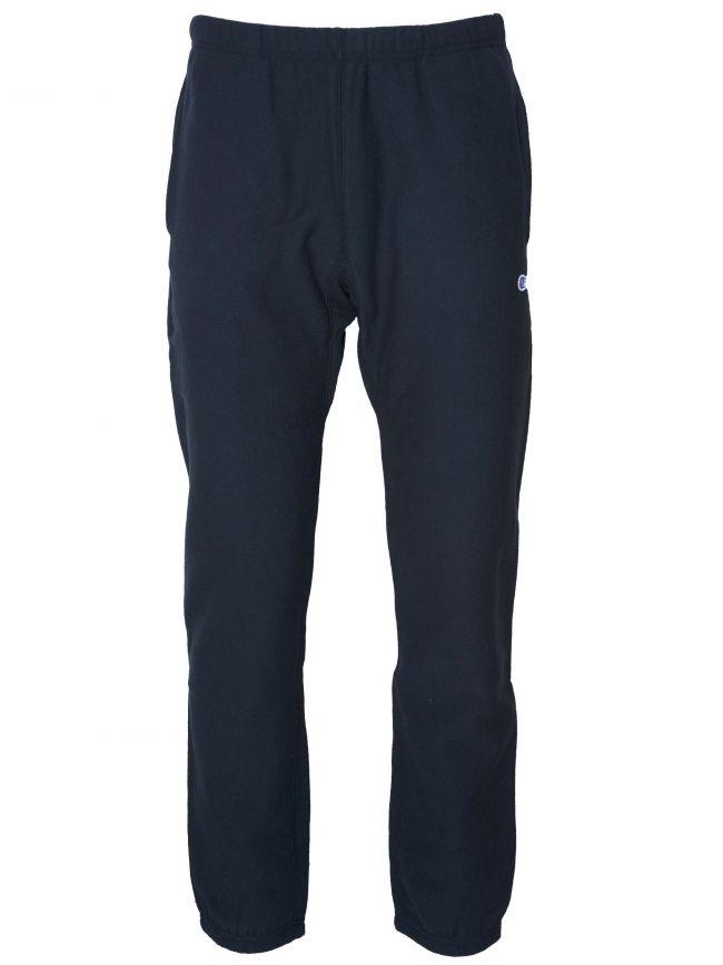 Reverse Weave Navy Blue Jog Pant