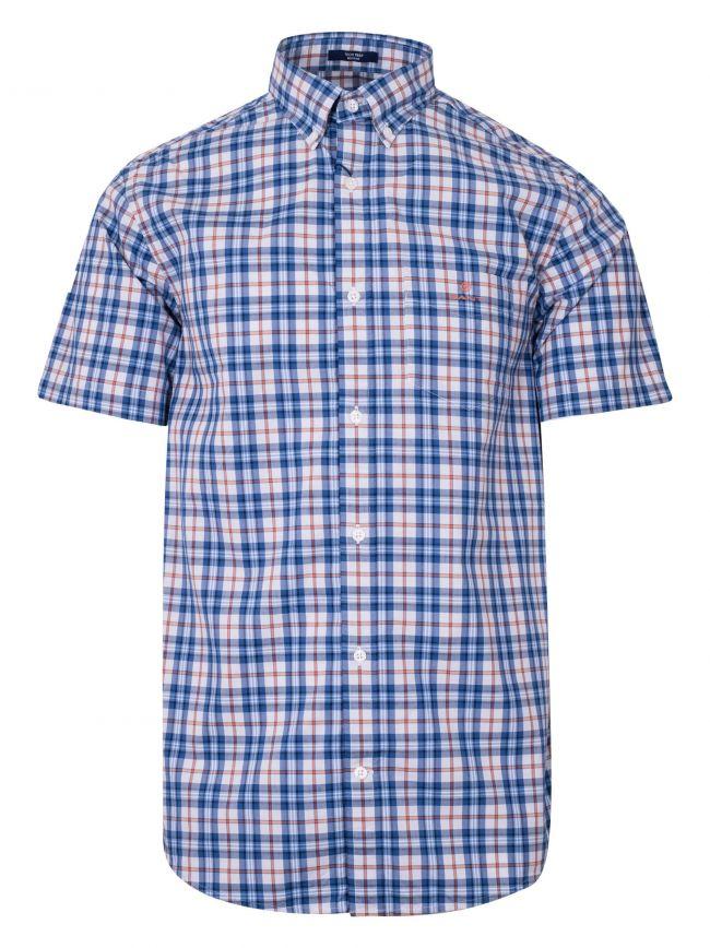 Arancia Check Regular Short-Sleeve Shirt