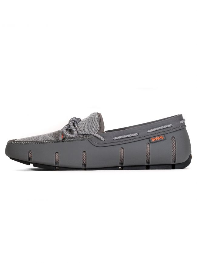 Grey Stride Lace Loafer
