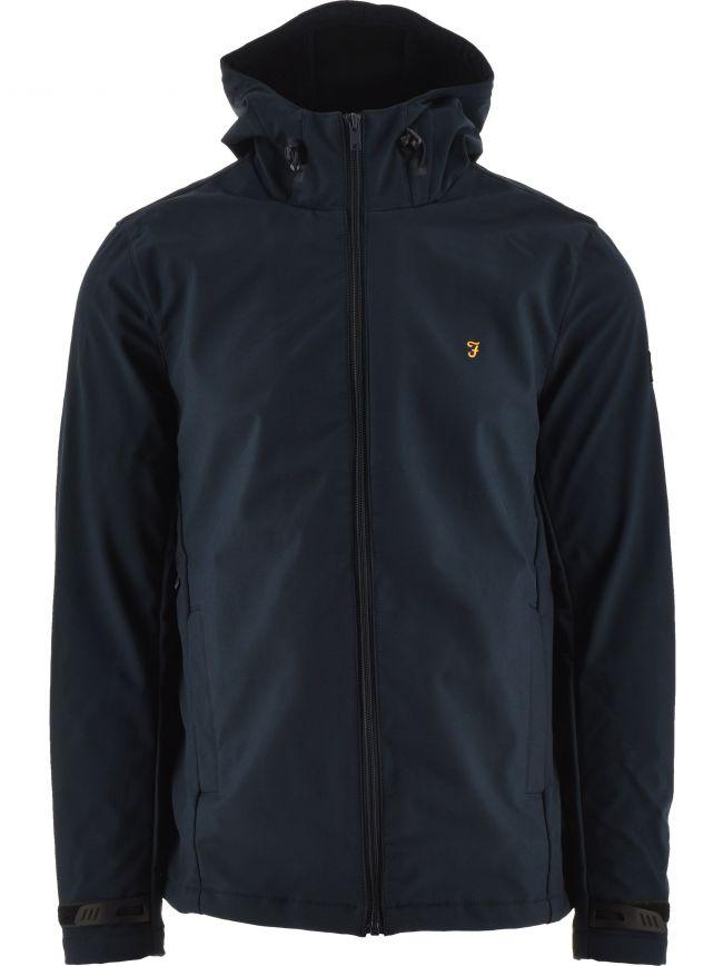 Navy Bective Soft Shell Jacket