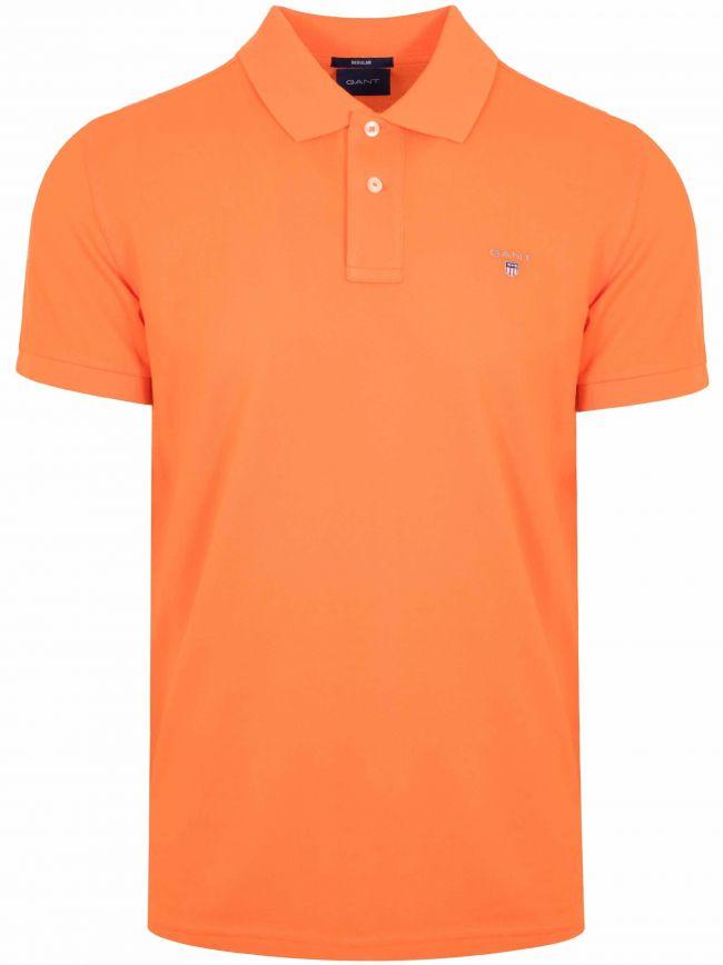 Sunny Orange Classic Polo Shirt