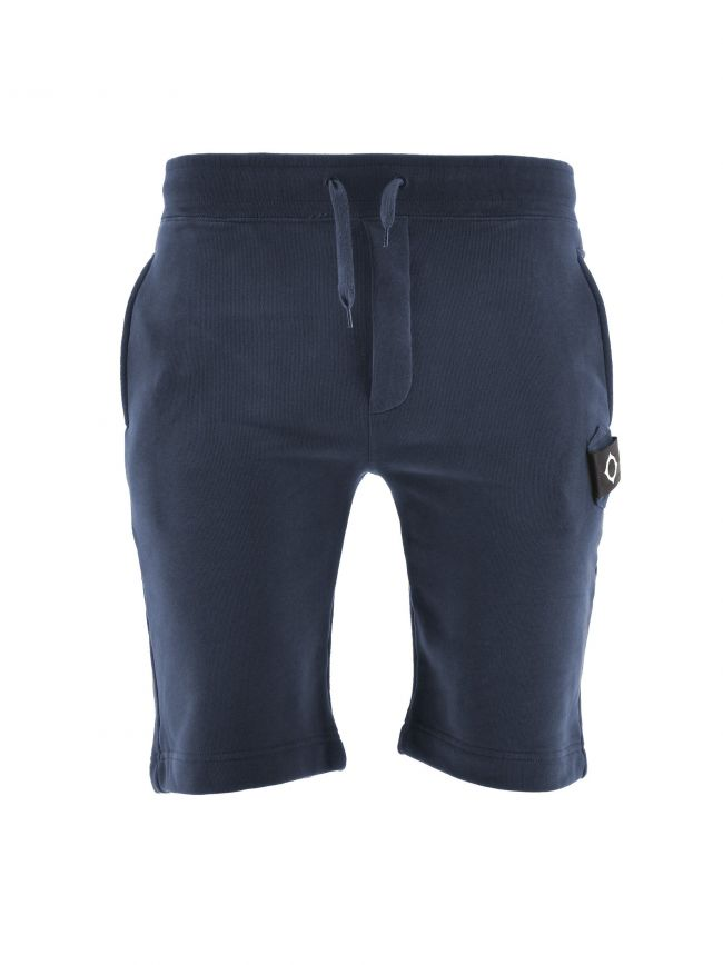 Navy Core Sweat Short